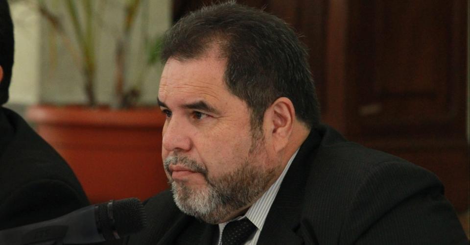 Carlos Alvarado Cerezo, actual rector de la Usac.