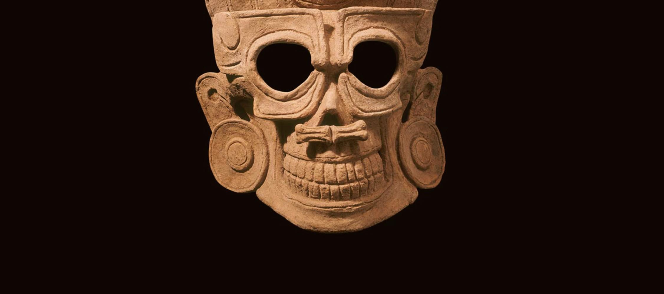 Máscara precolombina de la Funba
