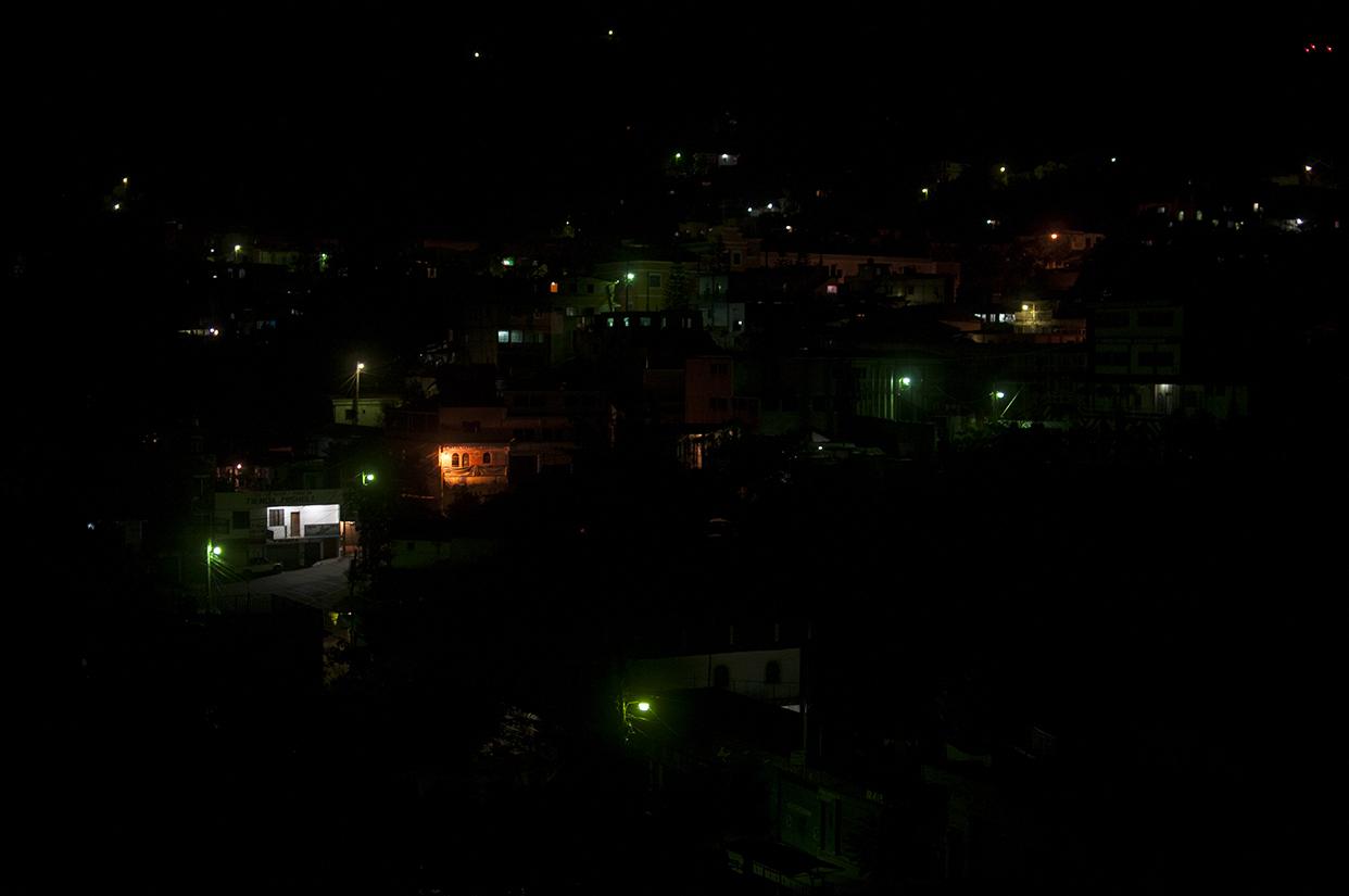 La Democracia, Huehuetenango. Varias aldeas y la cabecera municipal pasaron varios días sin electricidad por su negativa a pagar facturas de luz de miles de quetzales.