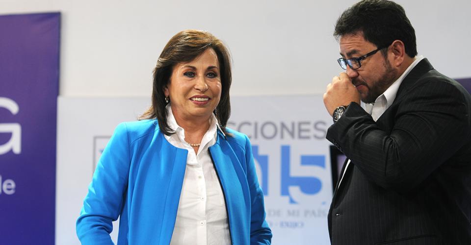 Carlos Menocal, exministro de Gobernación, asesora a la candidata de la UNE.