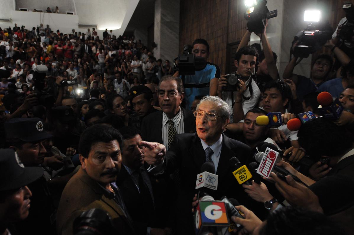 El ex jefe de estado fue condenado por genocidios y delitos contra deberes de la humanidad en la población ixil.